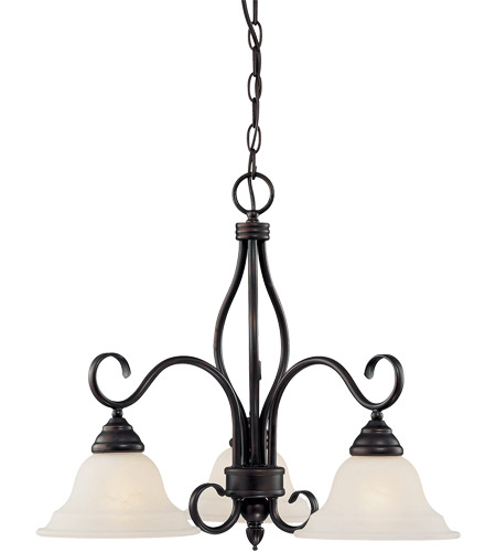 Savoy House KP-100-3-13 Oxford 3 Light 23 inch English Bronze Chandelier Ceiling Light photo