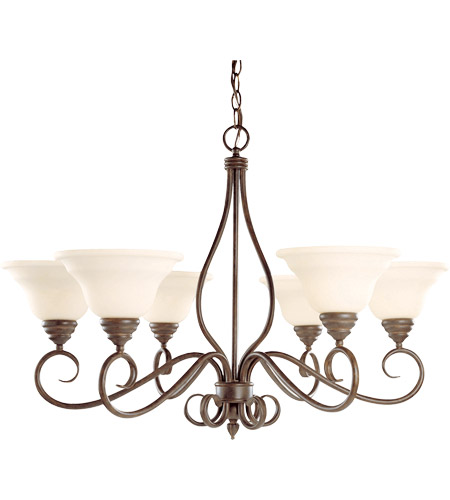 Savoy House Bryce 6 Light Chandelier in Sunset Bronze KP-104-6-91