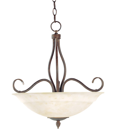 Savoy House KP-113-3-91 Bryce 3 Light 19 inch Sunset Bronze Pendant Ceiling Light photo
