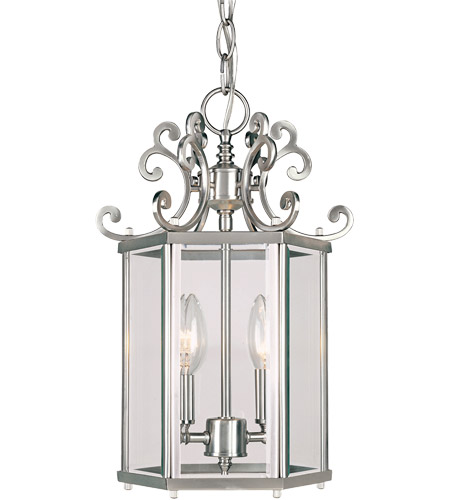Savoy House KP-3-500-2-69 Spirit 2 Light 10 inch Pewter Foyer Ceiling Light photo