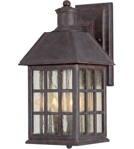 Savoy House Abbey 3 Light Outdoor Wall Lantern in Sunset Bronze KP-5-100-91 photo