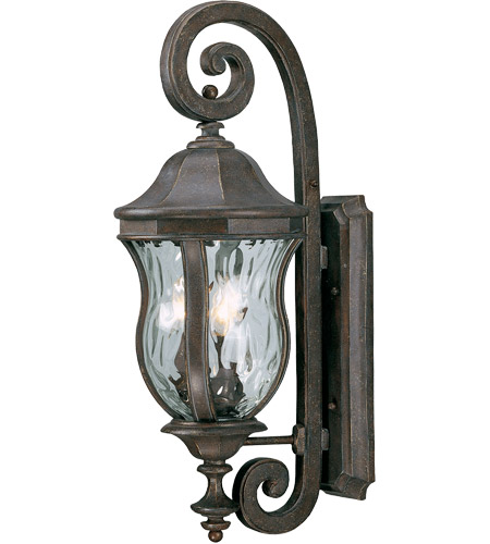 Savoy House KP-5-300-40 Monticello 3 Light 28 inch Walnut Patina Outdoor Wall Lantern photo