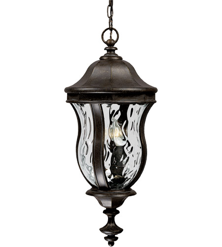 Savoy House Monticello 3 Light Outdoor Hanging Lantern in Walnut Patina KP-5-302-40 photo
