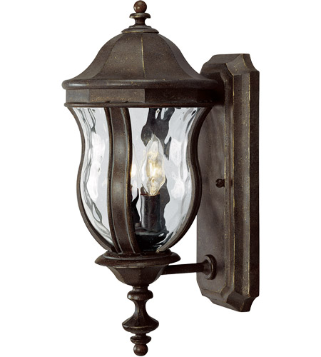 Savoy House KP-5-304-40 Monticello 2 Light 18 inch Walnut Patina Outdoor Wall Lantern photo thumbnail