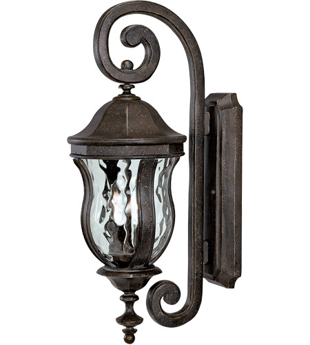 Savoy House KP-5-305-40 Monticello 2 Light 22 inch Walnut Patina Outdoor Wall Lantern photo