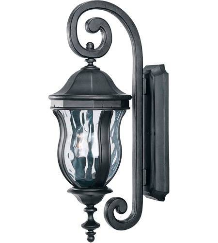 Savoy House KP-5-305-BK Monticello 2 Light 22 inch Black Outdoor Wall Lantern photo