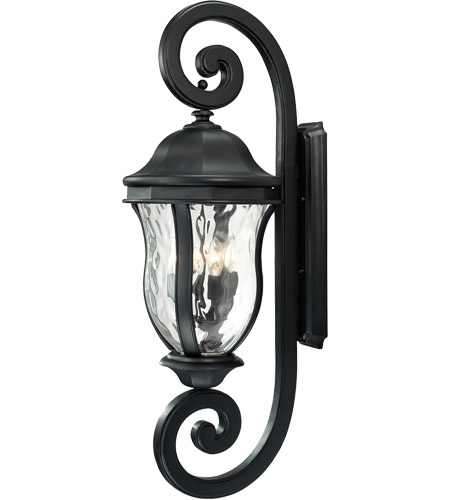 Savoy House KP-5-311-BK Monticello 4 Light 40 inch Black Outdoor Wall Lantern photo