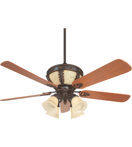 Savoy House Chatwick 4 Light Ceiling Fan in Antique Copper (Blades sold separately) KP-52-105-MO-16 photo