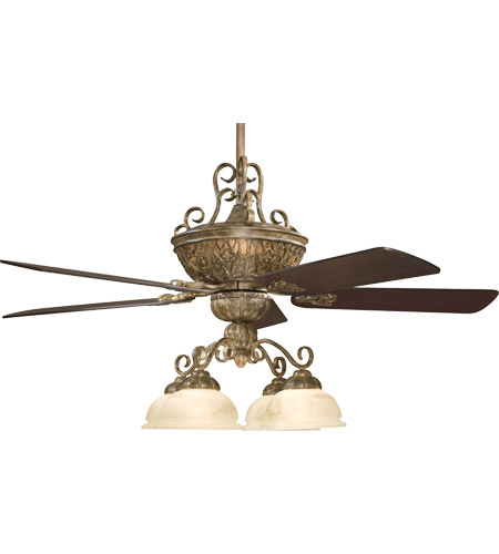 Tuscan Ceiling Fan With Light