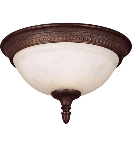 Savoy House Liberty 1 Light Flush Mount in Walnut Patina KP-6-506-11-40