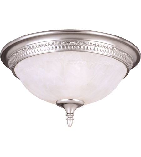 Savoy House KP-6-506-15-69 Spirit 3 Light 15 inch Pewter Flush Mount Ceiling Light in White Marble photo