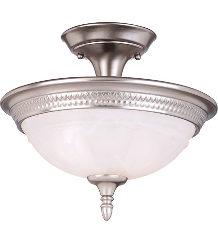 Savoy House Spirit 2 Light Semi-Flush in Pewter KP-6-507-2-69