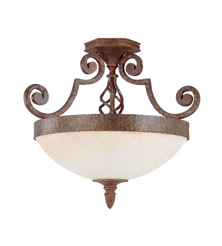 Savoy House Valencia Semi-Flush Mount Lighting KP- photo