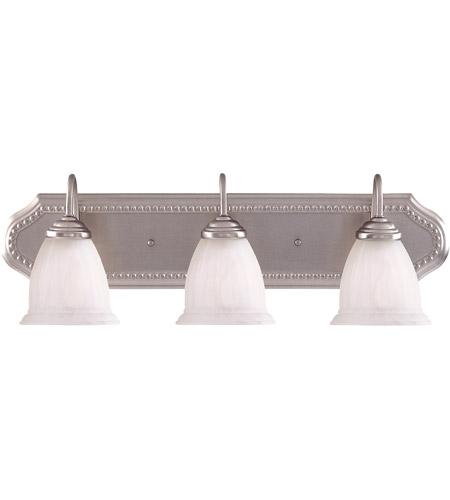 Savoy House Spirit 3 Light Vanity Light in Pewter KP-8-511-3-69