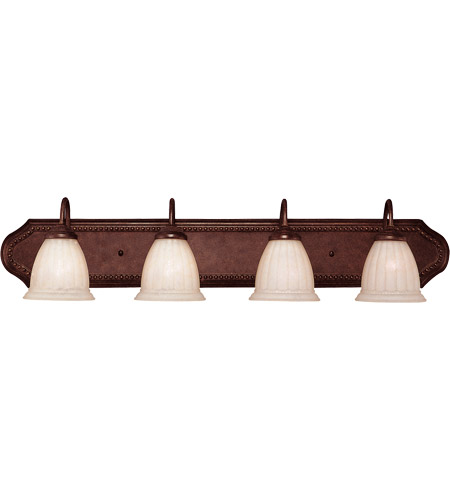 Savoy House Liberty 4 Light Vanity Light in Walnut Patina KP-8-511-4-40