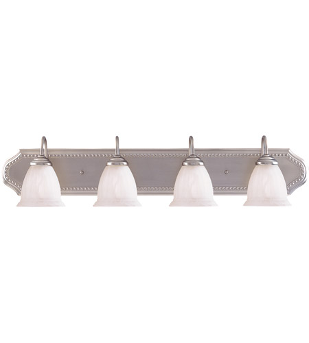 Savoy House Spirit 4 Light Bath Bar in Pewter KP-8-511-4-69 photo