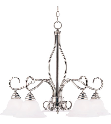 Savoy House Polar 5 Light Chandelier in Pewter KP-SS-101-5-69 photo
