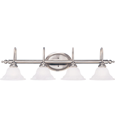 Savoy House Polar 4 Light Vanity Light in Pewter KP-SS-108-4-69