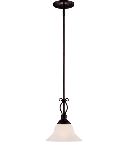 Savoy House KP-SS-130-1-13 Oxford 1 Light 10 inch English Bronze Mini Pendant Ceiling Light in Cream Faux Alabaster photo