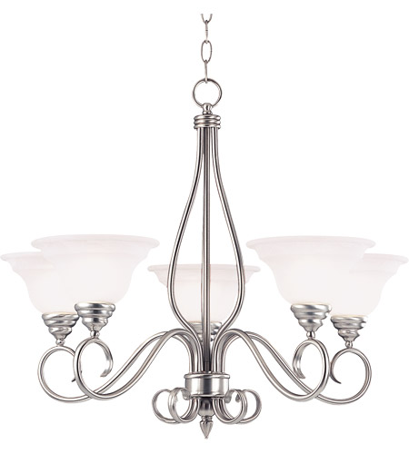 Savoy House Polar 5 Light Chandelier in Pewter KP-SS-95-5-69 photo