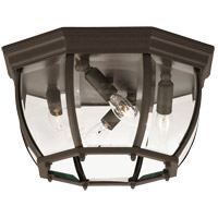 Savoy House Exterior Collections 4 Light Outdoor Flush Mount in Bronze 07039-BZ photo thumbnail