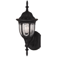 Savoy House Exterior Collections 1 Light Outdoor Wall Lantern in Black 07068-BLK