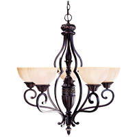 Savoy House Bedford 5 Light Chandelier in Distressed Bronze 1-041-5-59