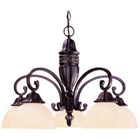 Savoy House Bedford 5 Light Chandelier in Distressed Bronze 1-043-5-59