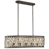 Savoy House 1-0801-5-124 Sandoval 5 Light 36 inch Fiesta Bronze Trestle Ceiling Light