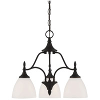 Savoy House Herndon 3 Light Chandelier in English Bronze 1-1000-3-13