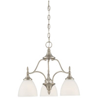 Herndon 3 Light 19 inch Satin Nickel Chandelier Ceiling Light