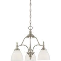 Savoy House 1-1000-3-SN Herndon 3 Light 19 inch Satin Nickel Chandelier Ceiling Light