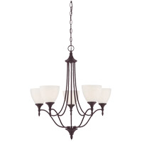 Herndon 5 Light 26 inch English Bronze Chandelier Ceiling Light
