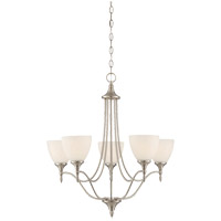 Savoy House 1-1001-5-SN Herndon 5 Light 26 inch Satin Nickel Chandelier Ceiling Light