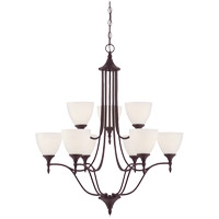 Savoy House Herndon 9 Light Chandelier in English Bronze 1-1002-9-13