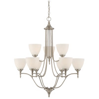 Herndon 9 Light 30 inch Satin Nickel Chandelier Ceiling Light