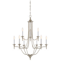 Herndon 9 Light 27 inch Satin Nickel Chandelier Ceiling Light