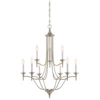 Savoy House 1-1009-9-SN Herndon 9 Light 27 inch Satin Nickel Chandelier Ceiling Light
