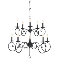 Winbrook 10 Light 39 inch Aged Iron Chandelier Ceiling Light