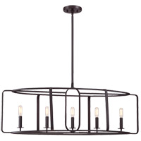 Savoy House Santina 5 Light Chandelier in English Bronze 1-1180-5-13