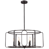 Savoy House Santina 6 Light Chandelier in English Bronze 1-1181-6-13