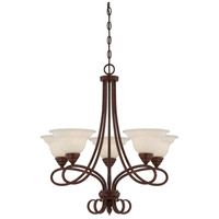 Savoy House Bryce 5 Light Chandelier in Sunset Bronze 1-120-5-91
