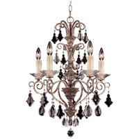 Savoy House Antoinette 5 Light Chandelier in New Mocha 1-1397-5-256