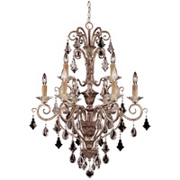Antoinette 9 Light 28 inch New Mocha Chandelier Ceiling Light