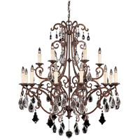 Savoy House 1-1404-18-56 Florence 18 Light 40 inch New Tortoise Shell Chandelier Ceiling Light photo thumbnail