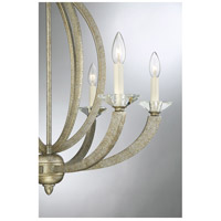 Savoy House 1-1551-6-122 Forum 6 Light 27 inch Gold Dust Chandelier Ceiling Light alternative photo thumbnail