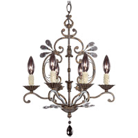 Savoy House Signature 6 Light Chandelier in New Tortoise Shell 1-1612-6-56 photo thumbnail