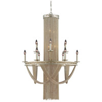 Savoy House Castello 18 Light Chandelier in Silver Sparkle 1-1631-18-307