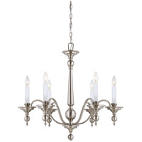 Savoy House Sutton Place 6 Light Chandelier in Satin Nickel 1-1726-6-SN photo thumbnail