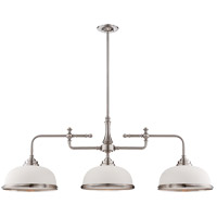 Savoy House Sutton Place 3 Light Island Light in Satin Nickel 1-1730-3-SN